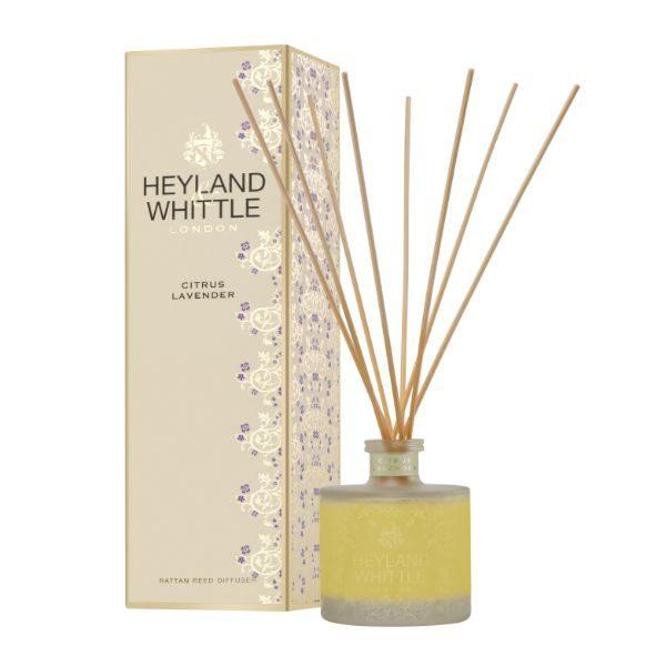 GOLD Classic Range Citrus Lavender Reed Diffuser 200ml