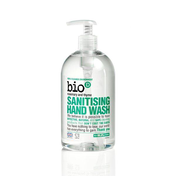 Bio-D Rosemary & Thyme Hand Wash 500ml (BHWRT65)