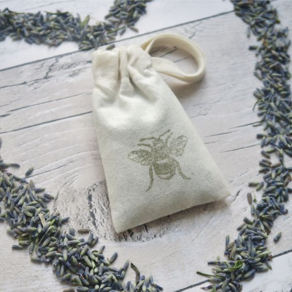 Lavender Bumble Bee Bag