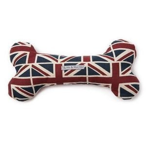 Union Jack Dog Bone