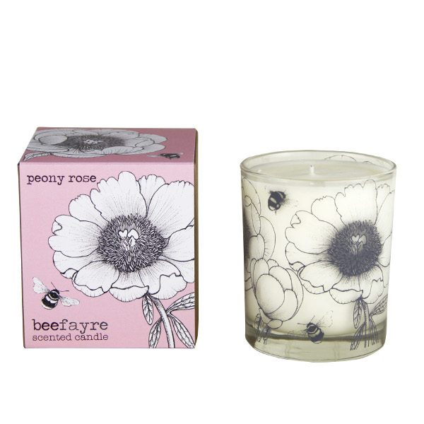 Peony Rose 20cl Candle white