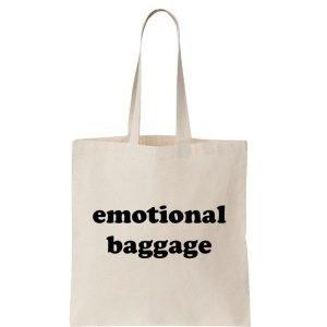 emotional-baggage-reusable-cotton-shopping-tote-bag