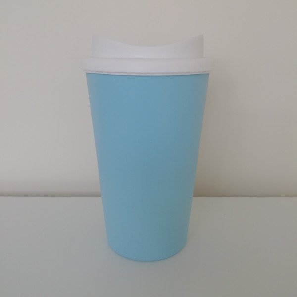 Appletree and Avalon Reusable Sky Blue 350ml Travel Mug