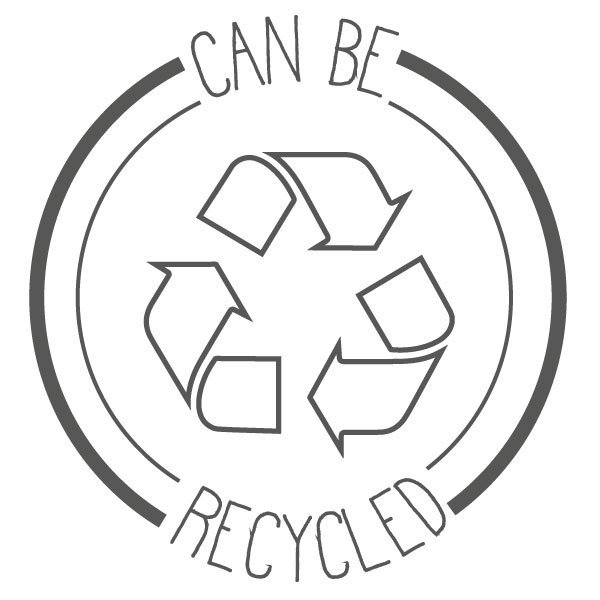 can be recycled small