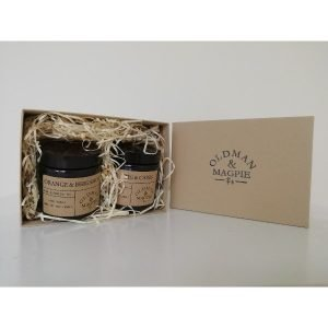 candle gift set box
