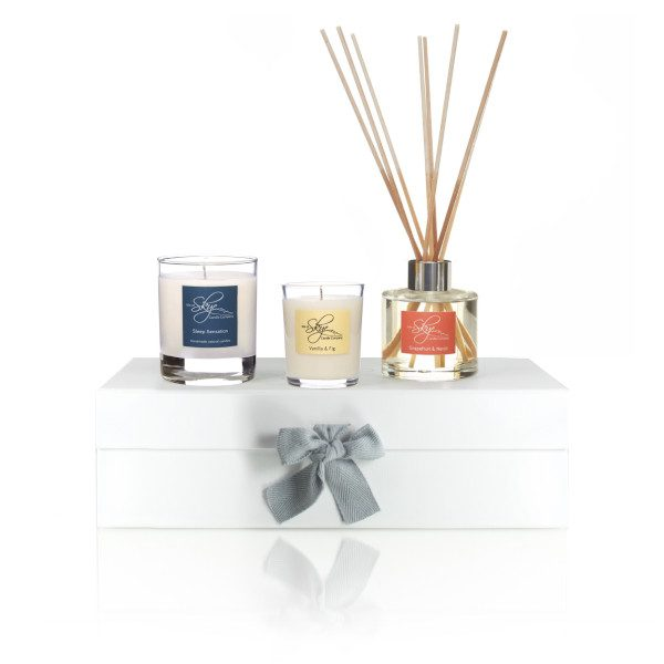 Exclusive Isle Of Skye Candle Co Soy Wax Diffuser Gift Set Eco Friendly