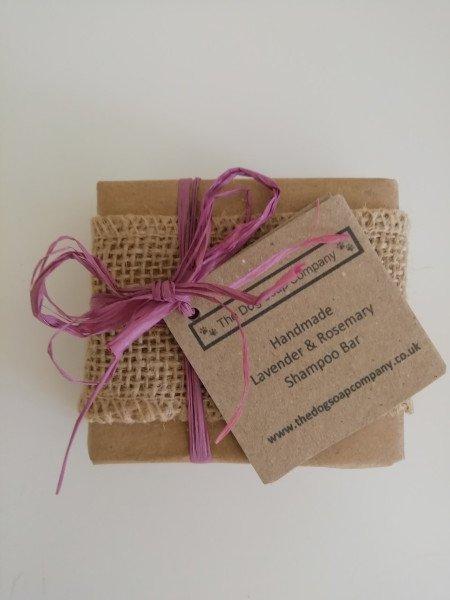 Lavender & Rosemary Natural Dog Shampoo Bar 100g