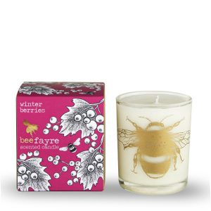 Winter Berries, Large Candle