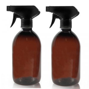 trigger spray glass bottle