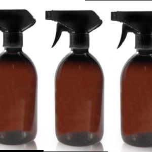 trigger spray glass bottles