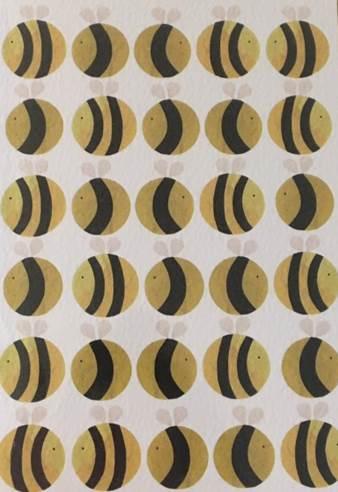 bees-birthday-card