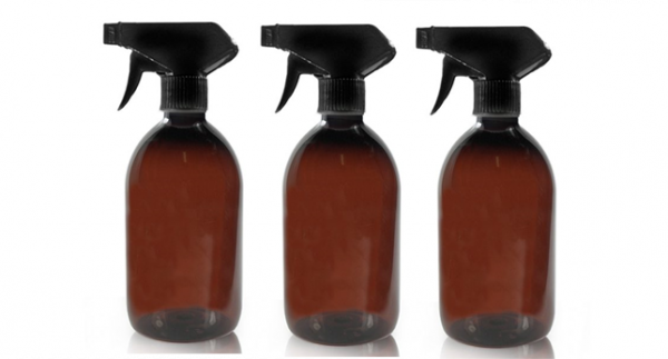 trigger spray glass bottles