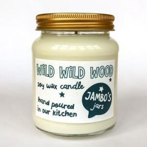 Wild wild wood candle