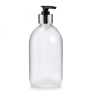 Clear Pump Bottle