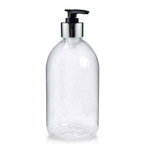 Clear Pump Bottle