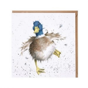 'A Waddle and a Quack' card