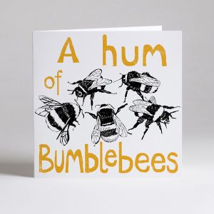 Hum Of Bumblebees Blank Card