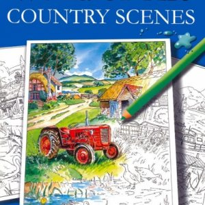 Countryside Adult Colouring book