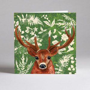 Stag Deer Blank Card