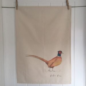 Large Pheasant Tea Towel