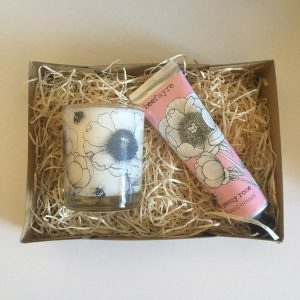 Floral Peony Gift Set
