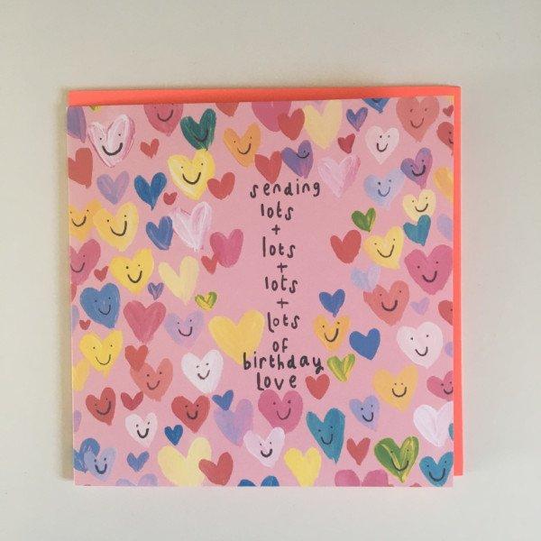 Hugs Blank Card