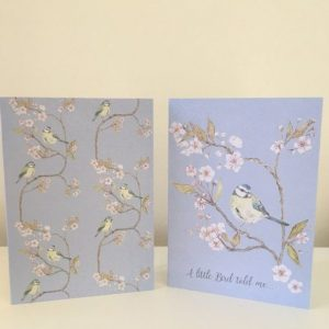 Blue Tit Bird Notelets