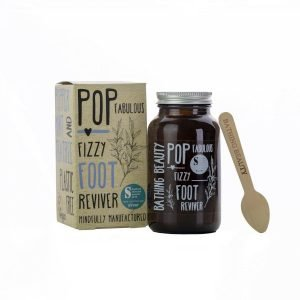 Created by Osteopaths to help refresh and revive hard working feet. Softening and refreshing this fizzy foot bath contains cooling Peppermint and antibacterial Tea Tree Essential Oils. Pop delivers fantastic results and can be used to manage and maintain Diabetic Foot Health.