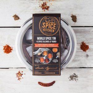 World Spice Tin